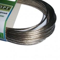 Трос металлополимерный в ПВХ оболонці ПР 3,0 мм 50м Білоруський