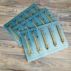 Сверло для плитки и стекла, перо (титан) 4 мм