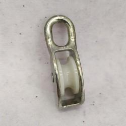 Блок такелажный бельевой одинарный 40 мм - блочок нейлоновый для подъема груза