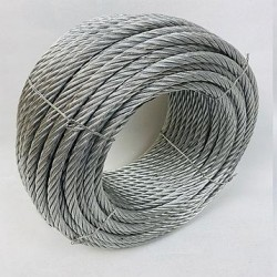 Трос стальной оцинкованный ISO 2408 (6х12) 10 мм 50 м