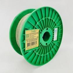 Трос металлополимерный в оболочке ПВХ ПР 5.0 мм, моток 100 м Белорусский