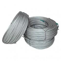 Трос стальной оцинкованный ISO 2408 (6х12) 5 мм 50 м