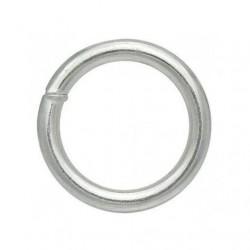 Кольцо сварное оцинкованное 8×50