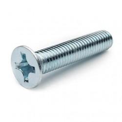 Винт потайной DIN 965 5х10 (500 шт/уп)